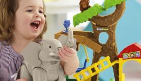 little people dierentuin, speelgoed, little-people-zoo