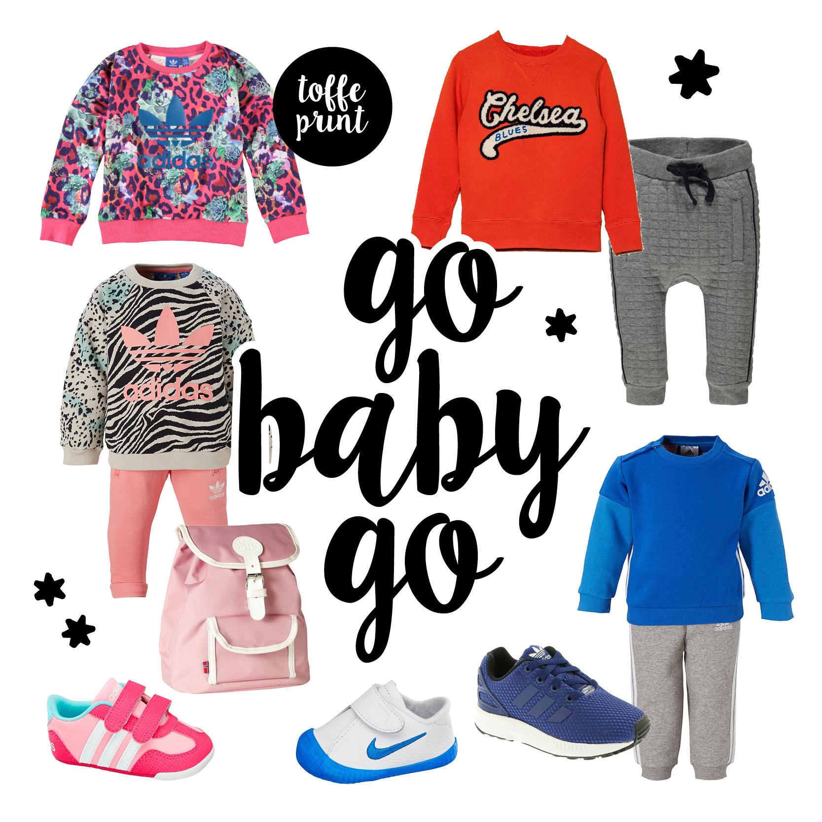 Baby Sport kleding, sportieve babykleding