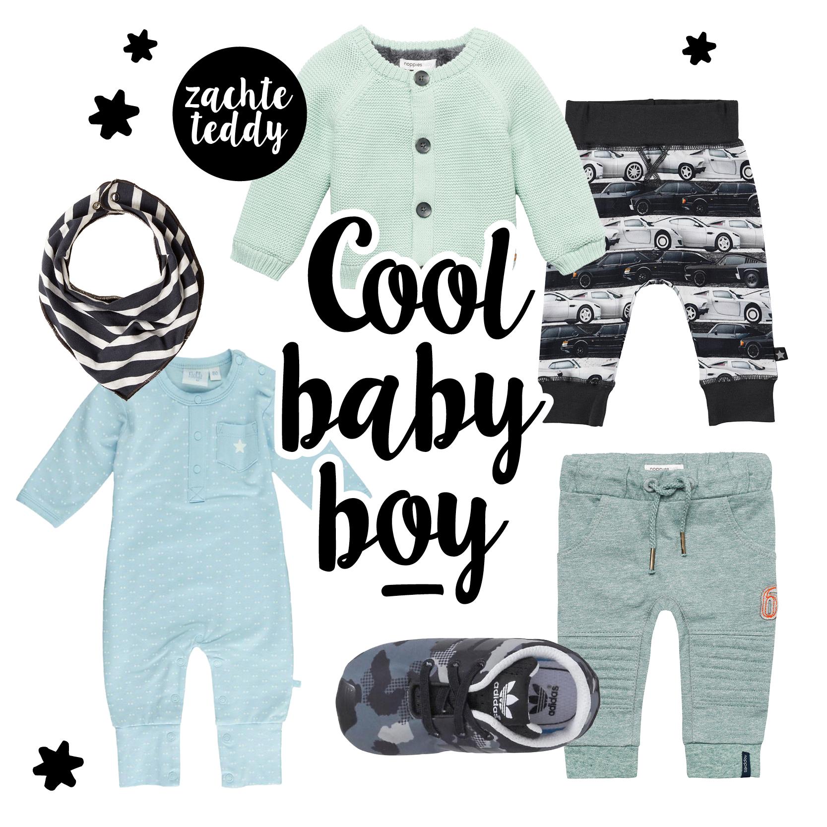 Cool baby boy, hippe babykleding, baby jongen, babylabel