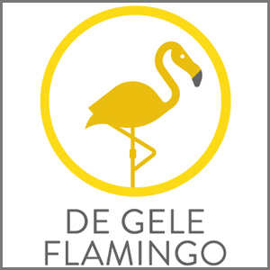 de gele flamingo, babyspullen, kraamcadeaus, babykleding