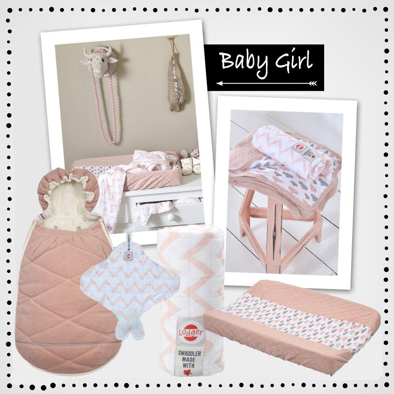Lodger, baby meisje, baby girl, baby verzorgingsproducten