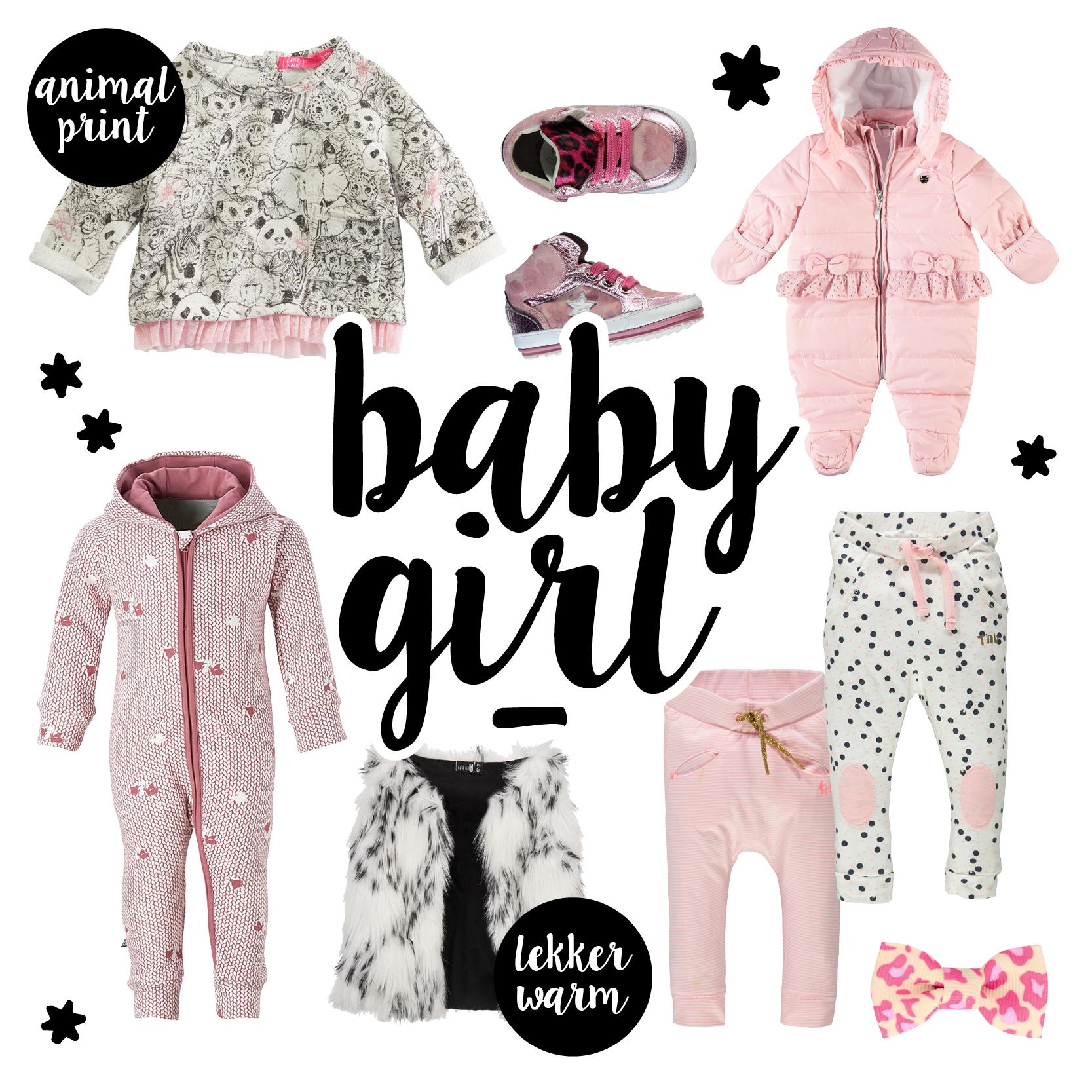 Najaar babykleding, baby meisjes kleding, babymode winter 2016-2017