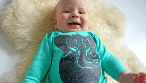 Qtie babykleding, review babylabel, noud in qtie