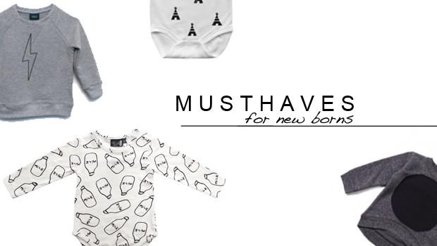musthaves for newborns, hippe babykleding, leuke babyspullen