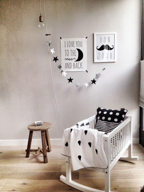 hippe babykamer voorbeelden, babykamer meisje