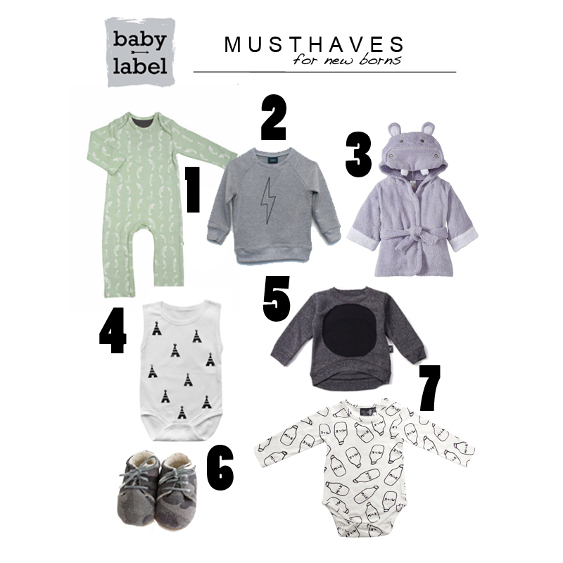 musthaves for newborns * babylabel, Deco ideeën