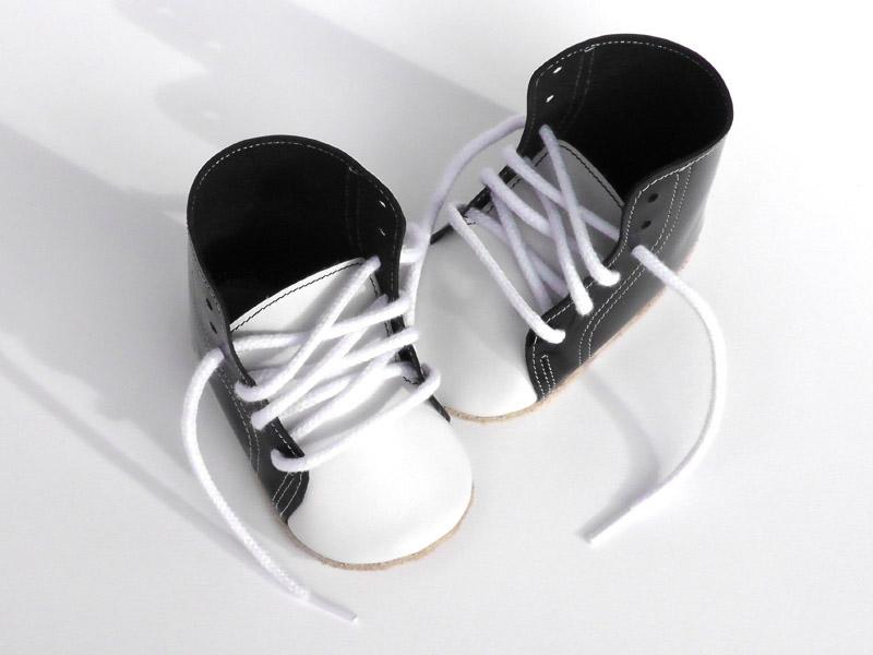 little king, babyschoentjes, littlekingsshoes, zwart wit babyschoentjes