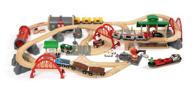 Brio-houten spoorbaan