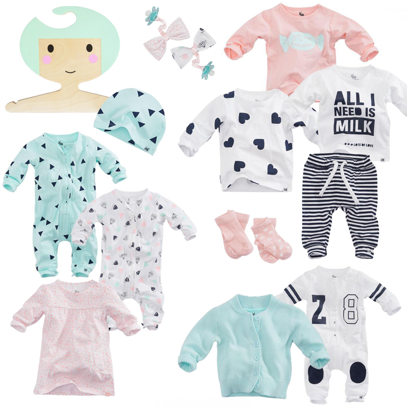 Z8 babykleding, Z8 newborn collectie, babylabel