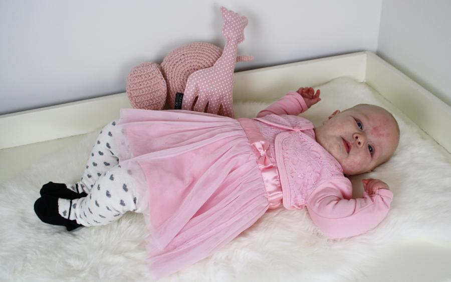 baby feestjurk, zeeman, baby jurk