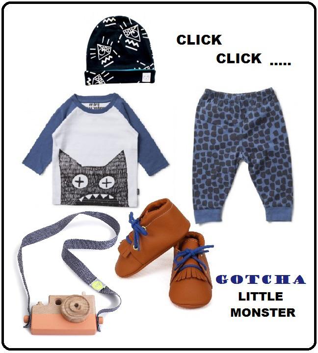 munsterkids, hippe babykleding, babylabel