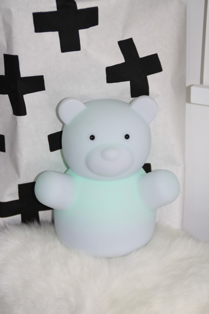 ISI MINI nachtlamp, berenlamp, babykamer, babylabel