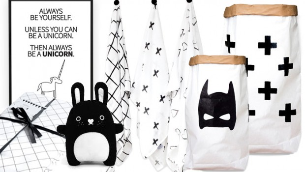 zwart wit babykamer accessoires | babylabel, Deco ideeën
