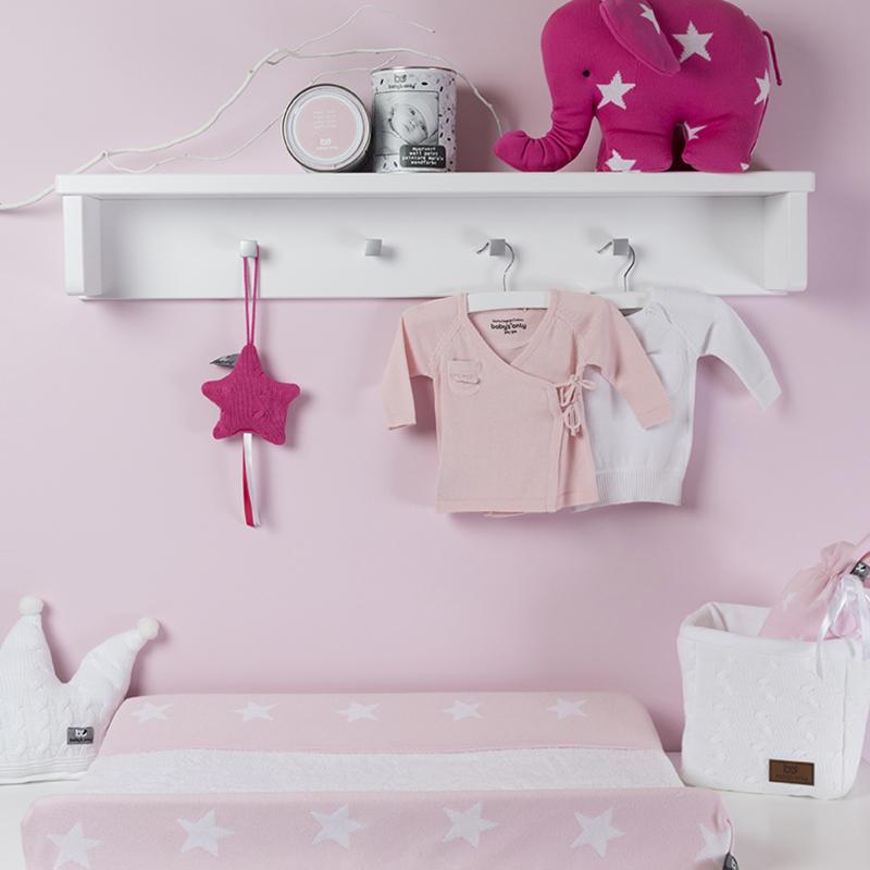 babykamer, accessoires, babyroze