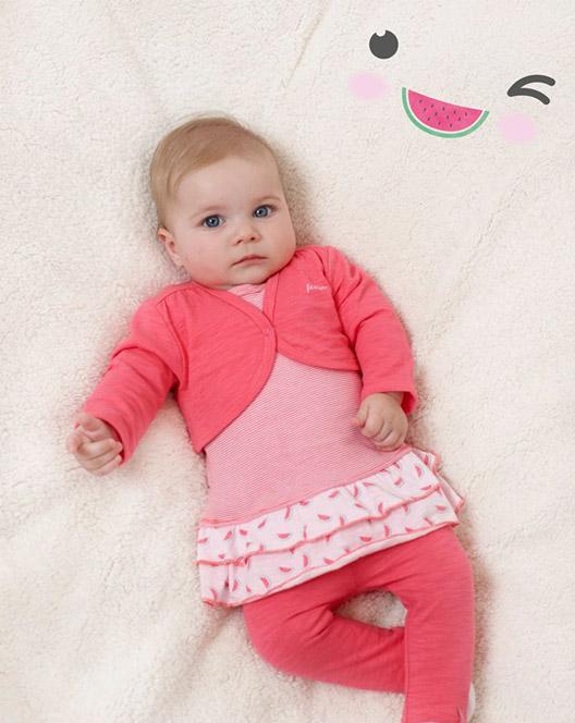babykleding, feetje, meisjes, baby-label