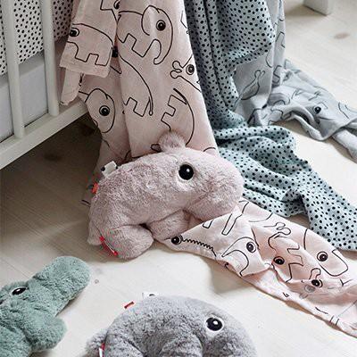 babyknuffels, done by deer knuffels, zachte babyknuffel, olifant knuffel