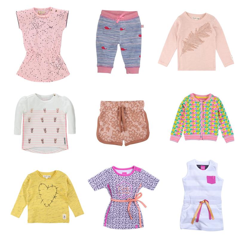 meisjes babykleding zomer, baby-label
