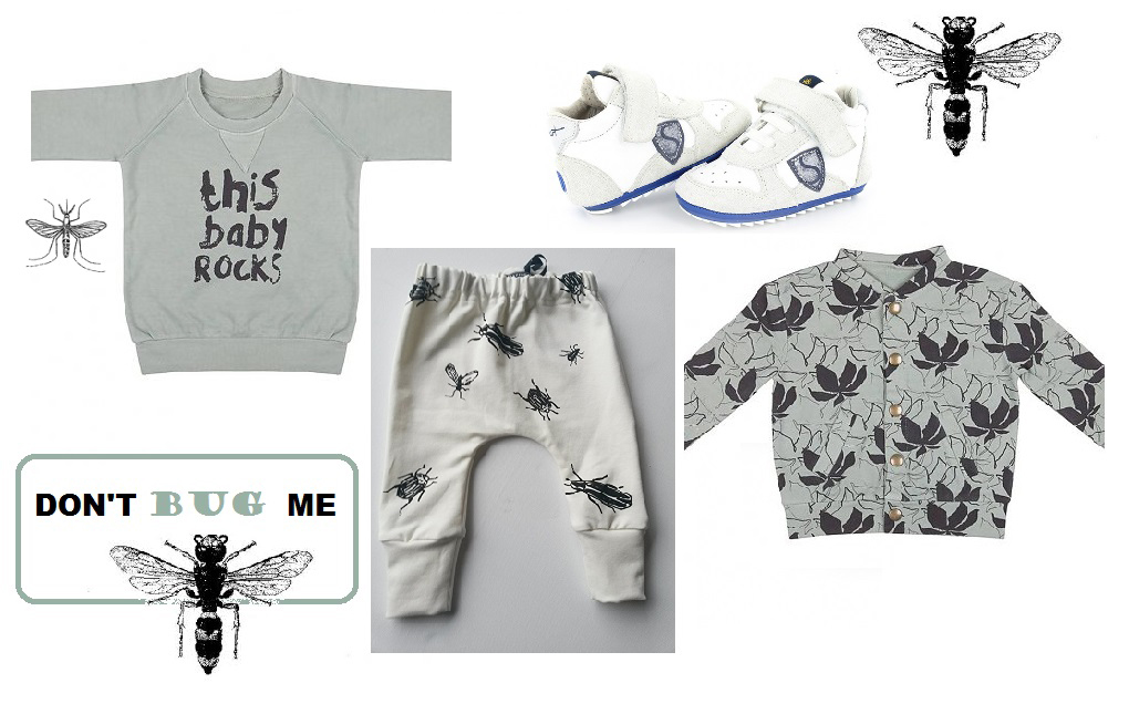 hippe babykleding, minimode, babykleertjes, babylabel, beestjesprints