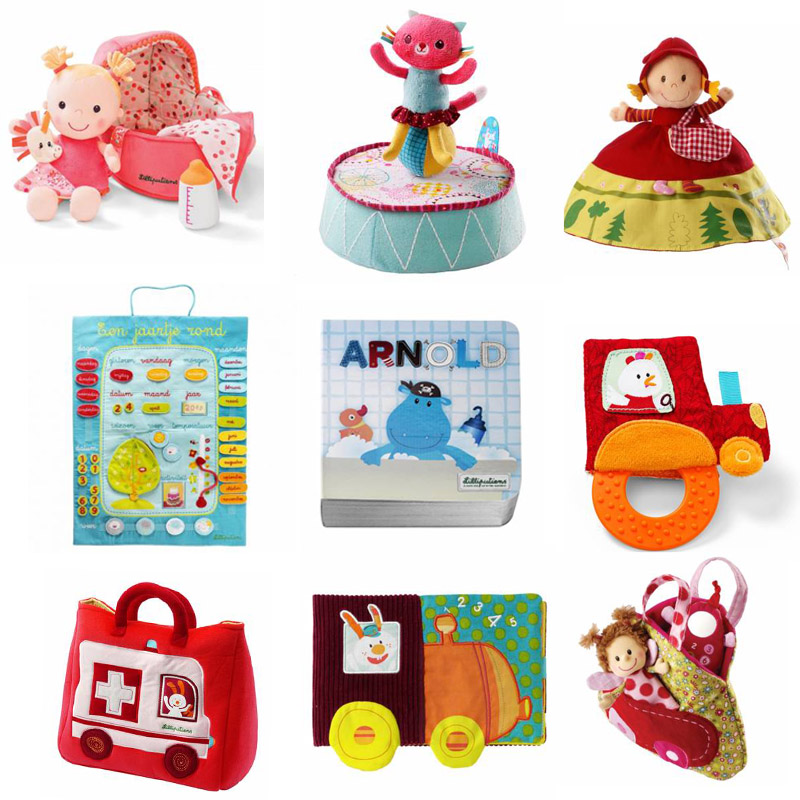 lillieputiens, babyspeelgoed, babylabel