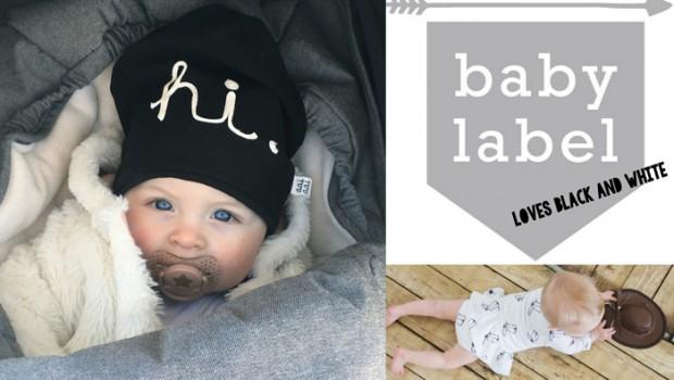 zwart wit babykleding, blackandwhite, monochrome, trend, hippe babykleding, baby-label