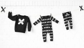 lucky-no7-babykleding-lucky-no7, zwart wit babykleding, smallrebel, babylabel