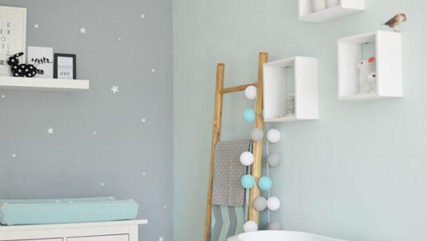 Mintgroen op de babykamer babykamers babylabel - Verf babykamer ...