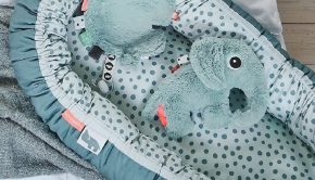 Baby musthaves, newborn musthaves, done by deer, babylabel, olifant knuffel