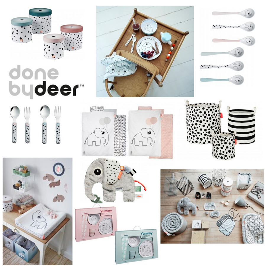 Baby musthaves, newborn musthaves, done by deer, babylabel