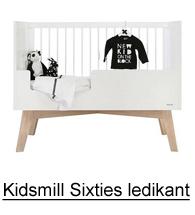 Kidsmill Sixties ledikant, babybedje