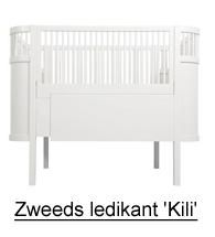 Sebra bedje Kili, zweeds babybedje