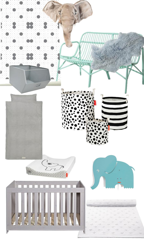 Dierenkamer, babykamer met dieren, dierenthema babykamer, kinderkamer, babylabel