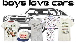 jongens en auto's, boys love cars, autokleding, autokamer
