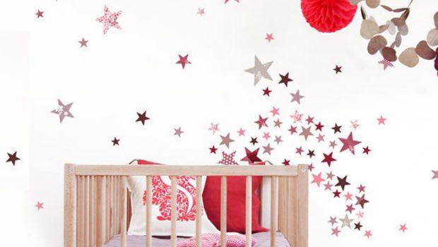 muurstickers sterren, babykamer muursticker