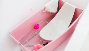 Stokke kinderbad, stokke kinderbadje, babybadje, Stokke Flexi-bath kinderbadje, tokke® Flexi Bath® Newborn Support, Stokke kinderbad