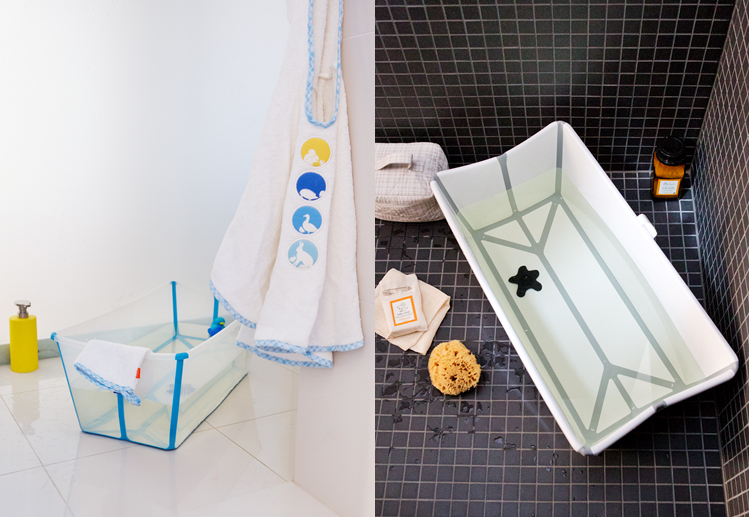 stokke kinderbadje, babybadje, Stokke Flexi-bath kinderbadje, tokke® Flexi Bath® Newborn Support