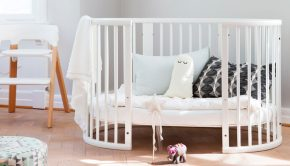 baby essentials, stokke babybedje, stokke sleepi bed