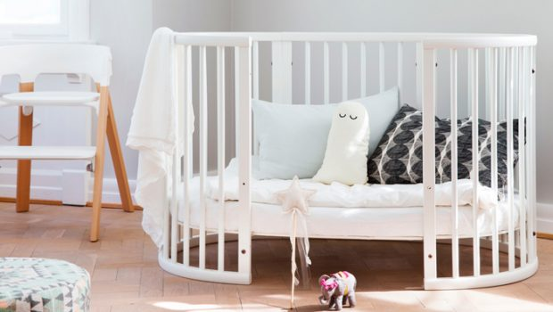 baby essentials, stokke babybedje, stokke sleepi bed