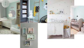 babykamer accessoires mint groen, babykamer voorbeelden, hippe babykamers