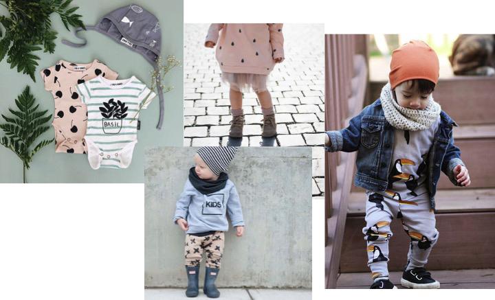 babykleding met printjes, hippe babykleding, babymode, kindermode trend