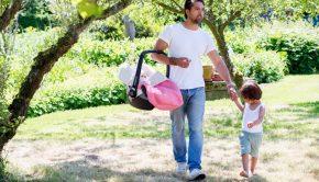 onderweg met je baby, koeka, zonnebescherming baby