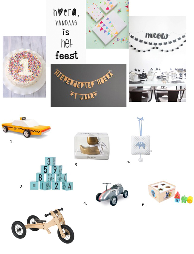 verjaardagscadeautjes kind 1-2 jaar, eerste verjaardag, trybike, loopfiets