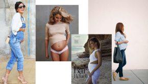 Zwangerschapsmode trends, zwangerschapsmode najaarstrends, hippe zwangerschapskleding
