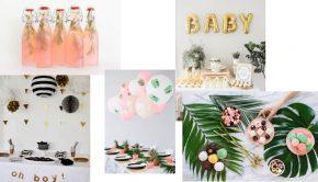 Inspiratie babyshower, organiseren babyshower