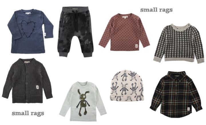 deens kinderkledingmerk, small rags, kindermode winter 2016-2017