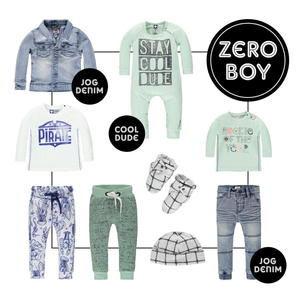 TND Zero boy, baby jongenskleding, babylabel