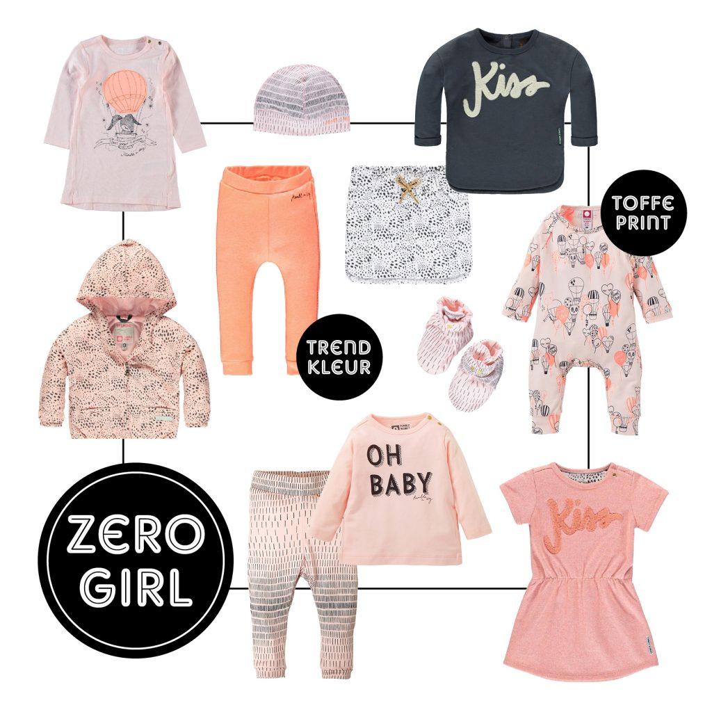 TND Zero girl, baby meisje, babykleding, babylabel