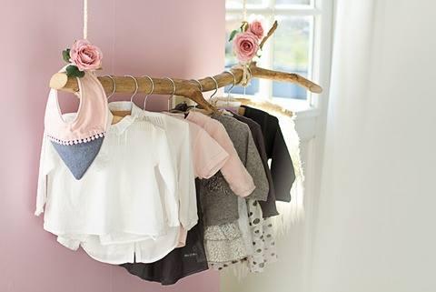 babykamer meisje, roze babykamer