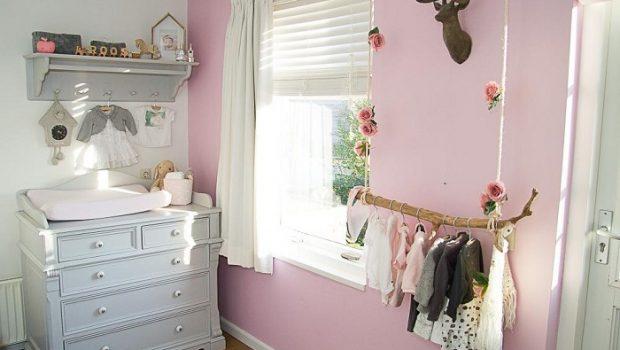 Babykamer meisje binnenkijken meisje babykamer babylabel