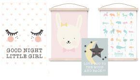 babykamer posters, kinderkamer posters