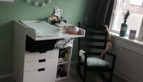 babykamer meisje, babykamer binnenkijken